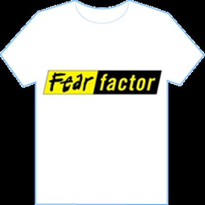 Fear Factor white t-shirt