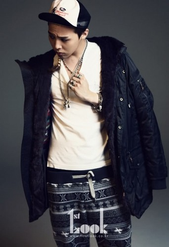 G-Dragon For фасоль, бин Pole