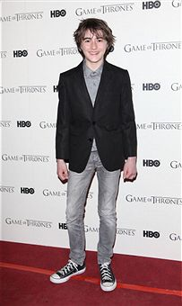 Game Of Thrones - DVD premiere- Isaac Hempstead-Wright