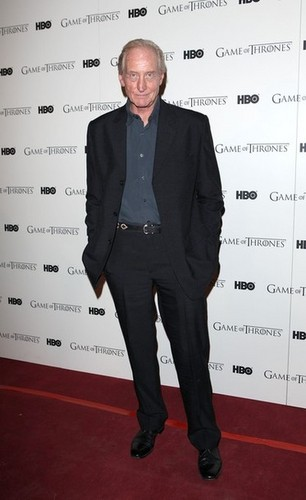 Game Of Thrones - DVD premiere- Charles Dance