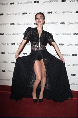 Game Of Thrones - DVD premiere- Oona Chaplin