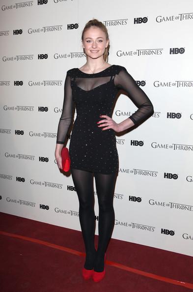 Game Of Thrones - DVD premiere- Sophie Turner