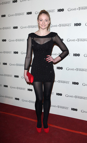 Game Of Thrones - DVD premiere- Sophie Turner