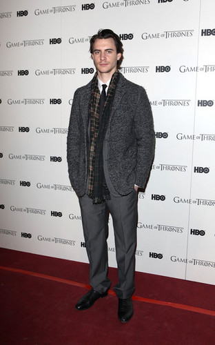 Game Of Thrones - DVD premiere- Harry Lloyd