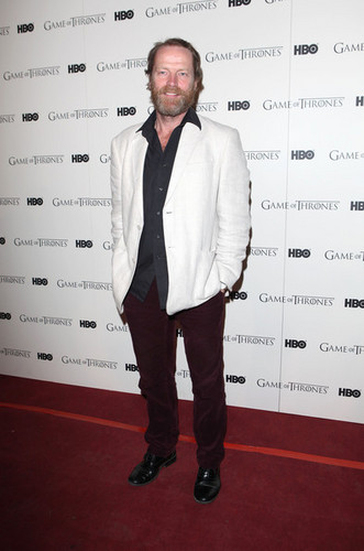 Game Of Thrones - DVD premiere- Iain Glen