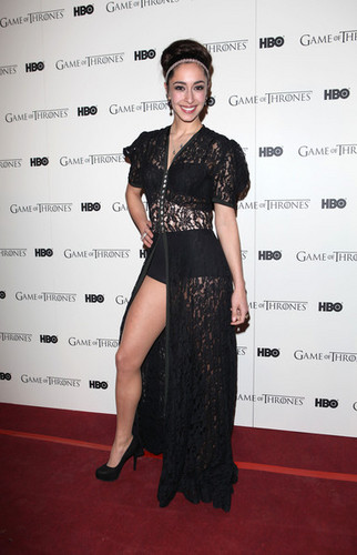 Game Of Thrones - DVD premiere- Oona Chaplin