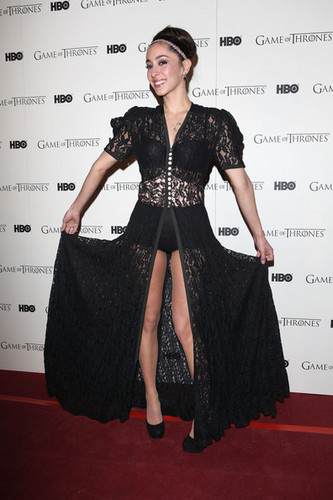 Game of Thrones images Game Of Thrones - DVD premiere- Oona Chaplin wallpaper and background photos