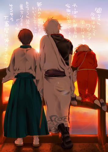 Gintoki, Kagura & Shinpachi