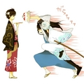 Gintoki, Katsura & Takasugi o-o