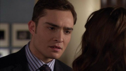 "Blair & Chuck karatasi la kupamba ukuta containing a business suit and a suit entitled Gossip Girl 5x17 - ""The Princess Dowry"" Episode Screencaps"