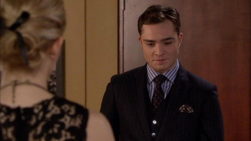 "Chuck Bass wallpaper with a business suit titled Gossip Girl 5x17 - ""The Princess Dowry"" Episode Screencaps"