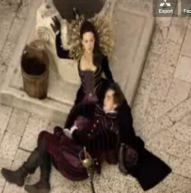 Helen Mccrory in The vampires of Venice