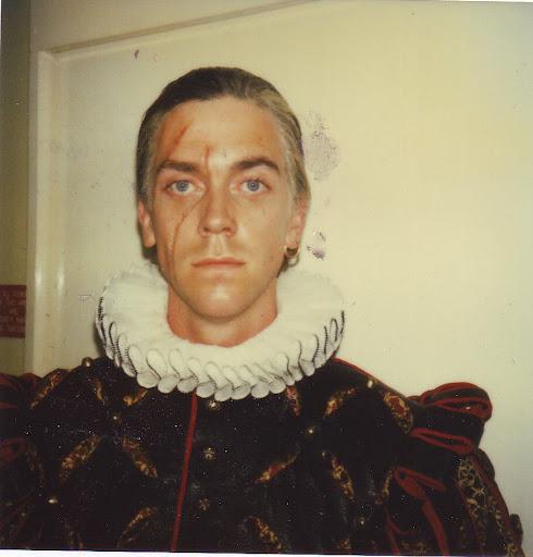 Hugh laurie- Prince Ludwig Blackadder- 1986