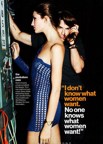 Ian in Glamour Magazine (April 2012).