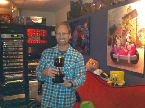 Jeff Bennett and His Annie Award