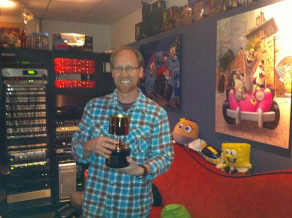 Jeff Bennett and His Annie Award
