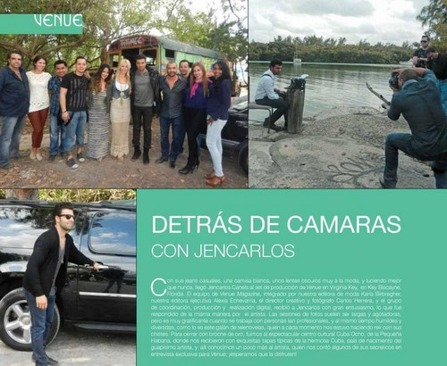 Jencarlos en Venue Magazine