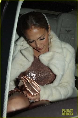 Jennifer Lopez & Casper Smart: 前 with 'Idol' Finalists!