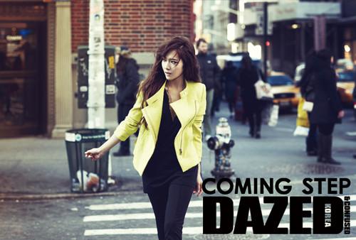 Jessica @ Dazed and Confused Magazine
