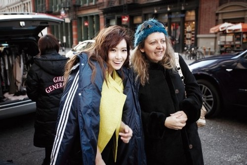 "Jessica ""Dazed"" behind the scenes"