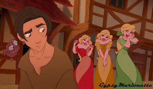 Jim Hawkins' crazy fangirls