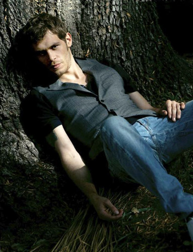 Joseph morgan Smolders in August Man Magazine