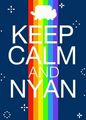 Just...Keep calm! - nyan-cat photo