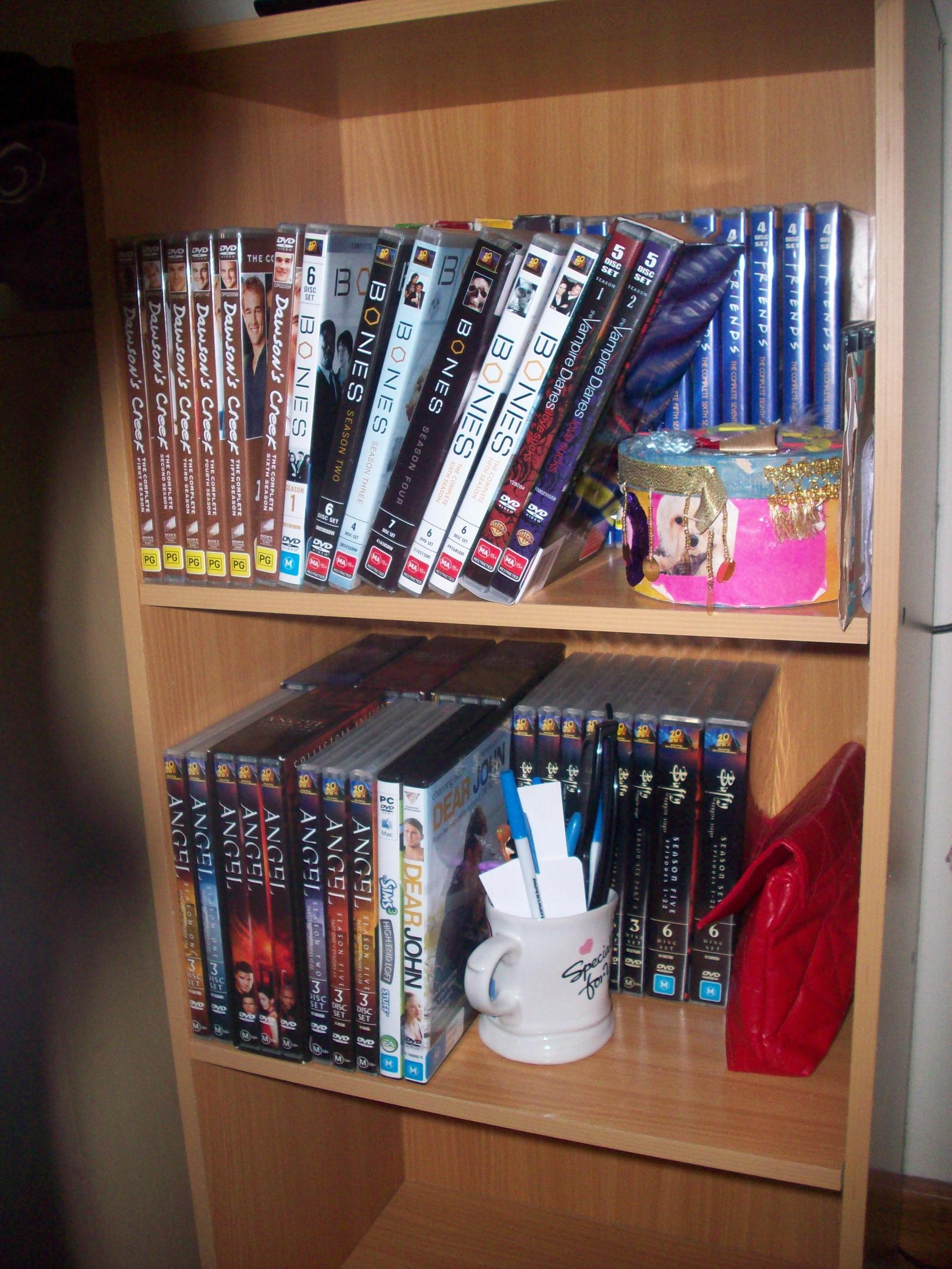 Just wanted to share my DVD collection with you guys :)