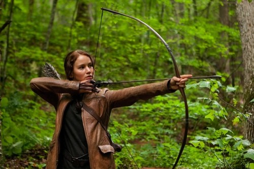 Katniss and Her Bow
