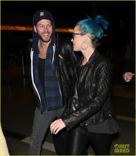 Katy Perry Takes Flight with Johnny Wujek