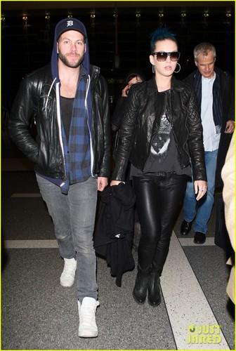 Katy Perry Takes Flight with Johnny Wujek