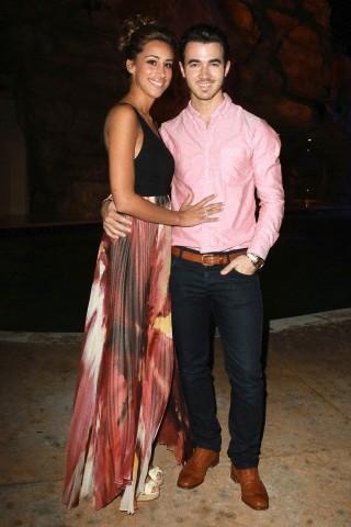 Kevin and Danielle Jonas - 2012