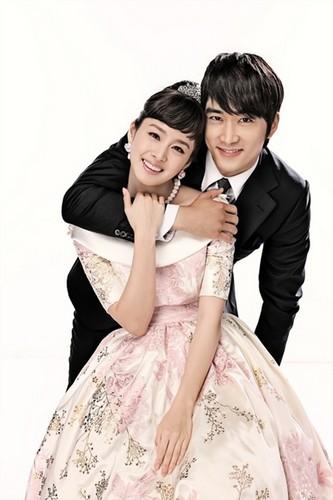Kim Tae Hee and Song Seung Hun from My Princess