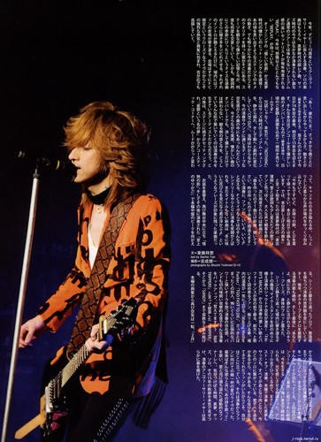 Kiyoharu ~ Kuroyume ~ SADS Обои containing a концерт and a guitarist titled Kiyoharu mag page