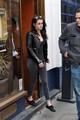 Kristen Stewart leaving Le Duc Restaurant in Paris, France - March 1, 2012.