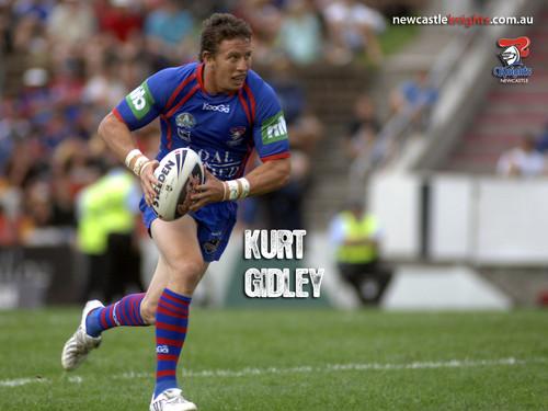 Kurt Gidley Newcastle Knights