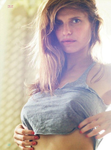 Lake Bell wallpaper with a portrait called Lake Bell in Esquire UK - March 2012