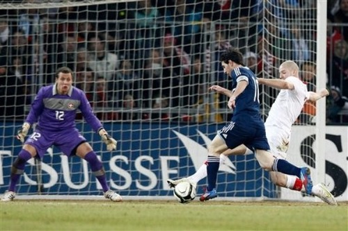 Lionel Andres Messi wallpaper titled Lionel Messi Hattrick in Argentina Friendly vs Switzerland (1-3) 29 February 2012