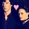 Sherlock and Irene (BBC) photo possibly with a portrait and anime called Love them ♥