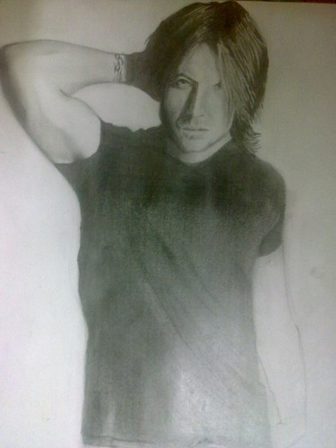 MY Another Keith Urban Sketch