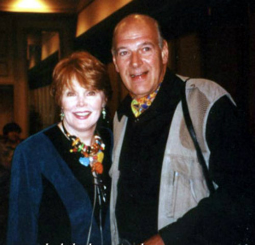Marie Wallace and Robert Rodan at the 2000 Dark Shadows Festival