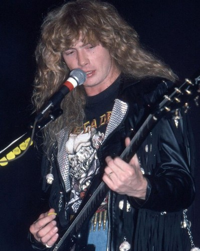 Megadeth fond d'écran with a guitarist and a concert called Megadeth