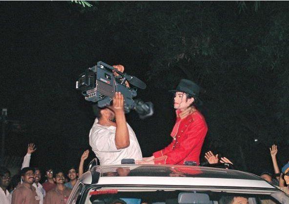 Michael Jackson in Inida :) ♥