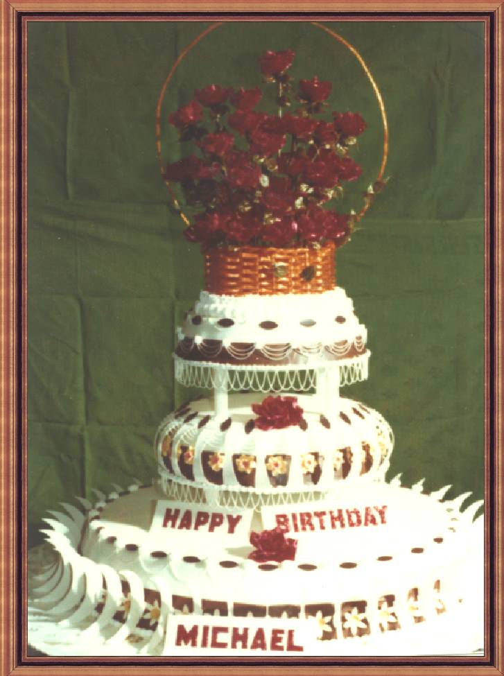 Michael's 16 th Birthday Cake