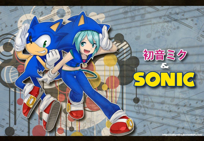 Miku and Sonic