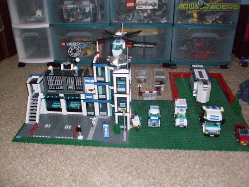 My brother's Lego collection O_O