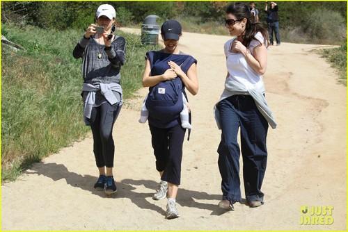 Natalie Portman: Hiking with Aleph!