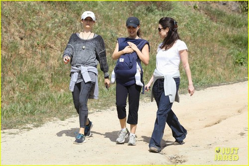 Natalie Portman: Hiking with Aleph!