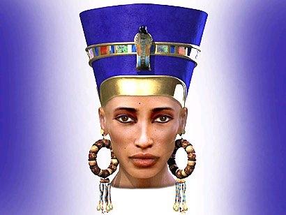 Nefertiti (ca. 1370 BC – ca. 1330 BC)