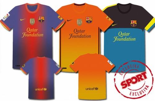 Next season's kit 2012/13